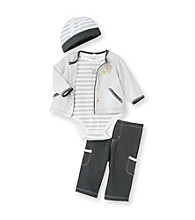 Little Me® Baby Boys' Grey 4-pc. Lion Take-Me-Home Set