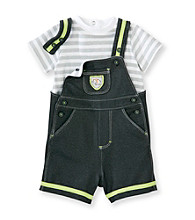 Little Me® Baby Boys' Grey Safari Shorts Set