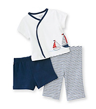 Little Me® Baby Boys' Blue 3-pc. Sailor Pants Set
