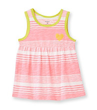 Carter's® Baby Girls' Neon Pink Striped Swing Tank