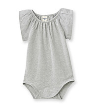 OshKosh B'Gosh® Baby Girls' Grey Flutter Sleeve Bodysuit