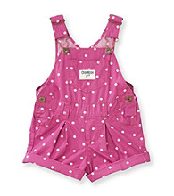 OshKosh B'Gosh® Baby Girls' Purple Dot Shortall