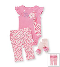 Vitamins Baby® Baby Girls' Giraffe Pants Set