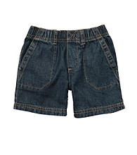 Carter's® Baby Boys' Blue Denim Woven Shorts