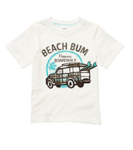 Carter's® Baby Boys' White Beach Bum Tee