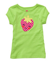 Carter's® Baby Girls' Green Strawberry Tee