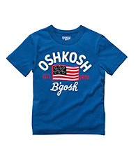 OshKosh B'Gosh® Baby Boys' Blue Flag Tee
