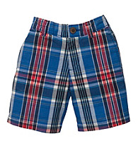 OshKosh B'Gosh® Baby Boys' Blue Plaid Shorts