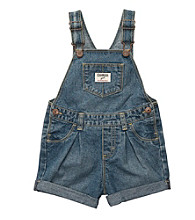 OshKosh B'Gosh® Baby Girls' Denim Woven Shortall