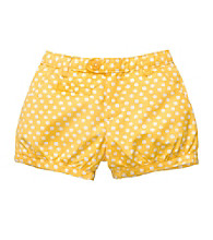 OshKosh B'Gosh® Baby Girls' Yellow Polka-Dot Woven Shorts