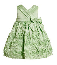 Bonnie Jean® Baby Girls' Mint Green Floral Dress