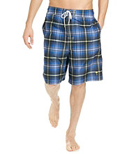 Paradise Collection® Men's Plaid Swim Trunk