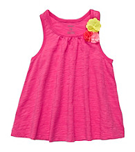 Carter's® Girls' 2T-6X Neon Pink Swing Tank
