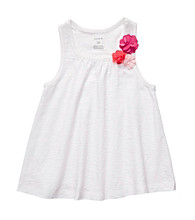 Carter's® Girls' 2T-6X White Swing Tank
