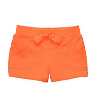 Carter's® Girls' 2T-6X Neon Orange French Terry Shorts