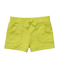 Carter's® Girls' 2T-6X Lime Green French Terry Shorts
