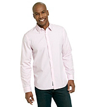 DKNY JEANS® Men's Soft Pink Gingham Shirt