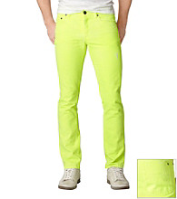 Calvin Klein Jeans® Men's Neon Yellow Skinny Denim
