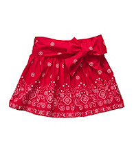 OshKosh B'Gosh® Girls' 4-6X Red Bandana Skort