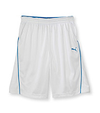 PUMA® Boys' 8-20 White Performance Shorts