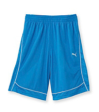 PUMA® Boys' 8-20 Blue Performance Shorts