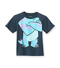 Disney® Boys' 2T-7 Navy Short Sleeve Sully Body Tee