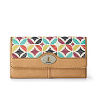 Fossil® Multi Maddox Signature Flap Clutch