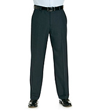 Kenneth Cole REACTION® Men's Navy Straight Fit Mini Windowpane Dress Pant