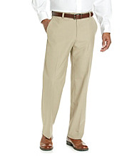 Kenneth Cole REACTION® Men's Straight Fit Tonal Plaid Dress Pant