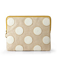 Fossil® Bone Polka Dot Key-Per Tablet Sleeve