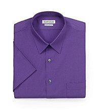 Van Heusen® Men's Myrtle Purple Short Sleeve Dress Shirt