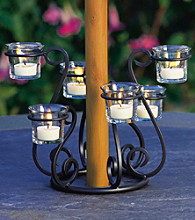 The Pomeroy Collection Outdoor Umbrella Lighting