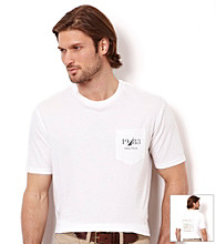 Nautica® Men's Bright White Graphic Tee Shirt