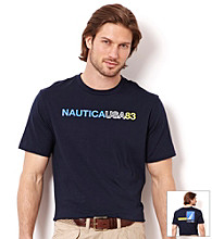 Nautica® Men's Navy Graphic Tee Shirt