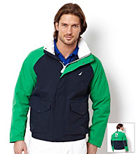 Nautica® Men's Colorblock Bomber