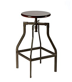 Hillsdale® Cyprus Cherry Adjustable Backless Stool