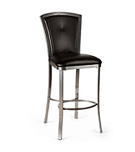 Hillsdale® Easton Silver Non-Swivel Stool