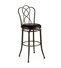 Hillsdale® Landover Black Swivel Stool