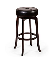 Hillsdale® Rhodes Walnut Backless Stool