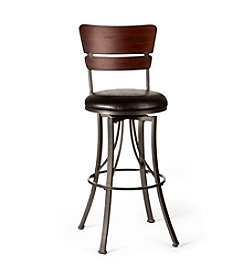Hillsdale® Santa Monica Cherry Swivel Stool