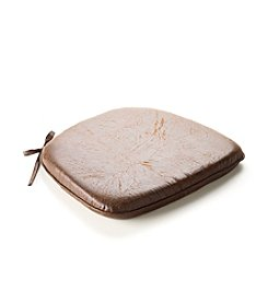 LivingQuarters Memory Foam Leather Chair Pad