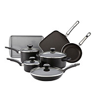 Farrberware® 12-pc. Black High Performance Nonstick Cookware Set
