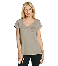 Chanteuse® Knit Short Sleeve Top