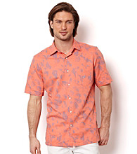 Nautica® Men's Coral Resort Short Sleeve Seashell Button Down Shirt