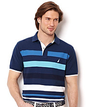 Nautica® Men's Short Sleeve Open Seas Polo