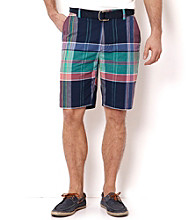 Nautica® Men's Jour Blue Plaid Shorts