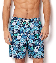 Nautica® Men's Twilight Blue Sealife Swim Shorts