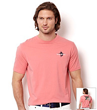 Nautica® Men's Short Sleeve Sea Salmon Marlin Palms Graphic Tee