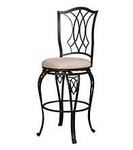 Powell® Big & Tall Diamond Top Bar Stool