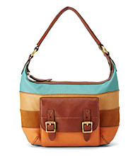 Fossil® Tate Patchwork Small Hobo
